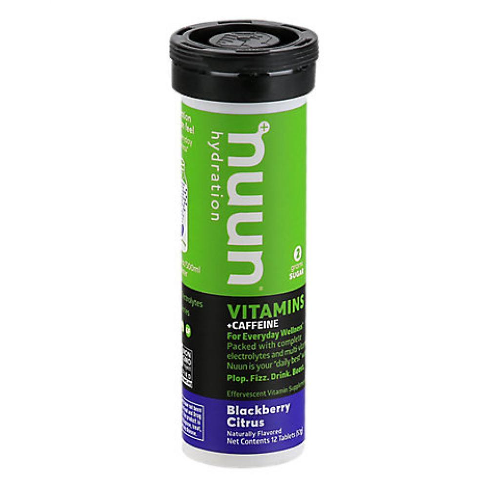 Nuun Vitamins Drinks Tablets Blackberry Citrus Natural Flavour 12 Tablets